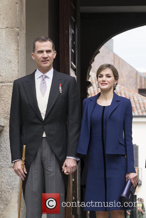 Miguel, Queen Letizia Of Spain and King Felipe Vi Of Spain 3