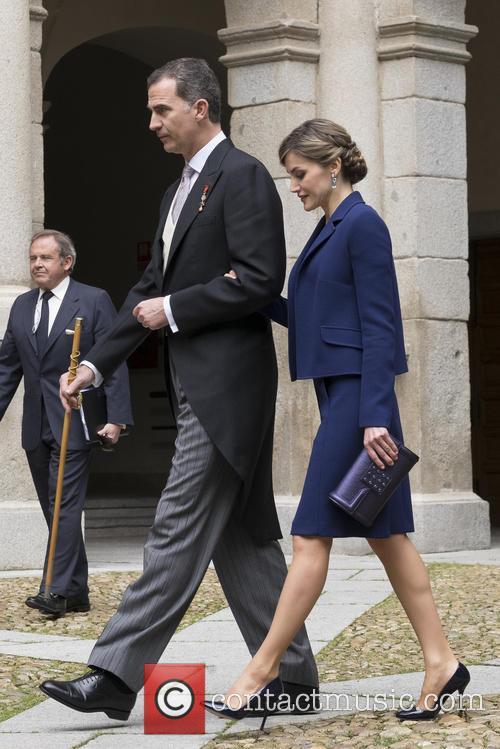 Miguel, Queen Letizia Of Spain and King Felipe Vi Of Spain 4