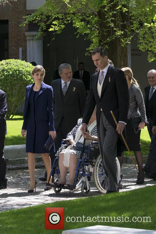 Miguel, Queen Letizia Of Spain and King Felipe Vi Of Spain 5