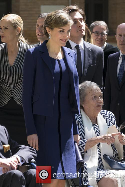 Miguel and Queen Letizia Of Spain 6