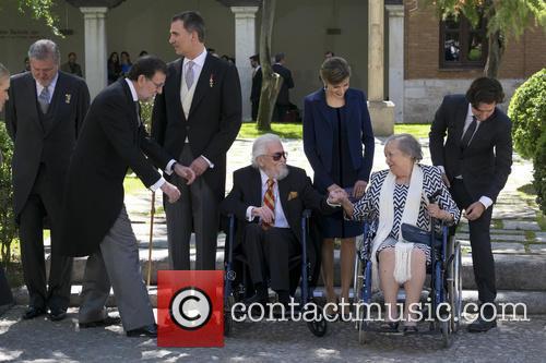 Miguel, Queen Letizia Of Spain and King Felipe Vi Of Spain 8