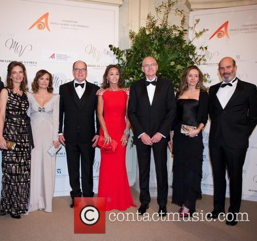 María Garcia De La Rasilla, Carol Portabella, Prince Albert Ii Of Monaco, Jean-luc Van Klaveren, Myriam De Ungría and Manuel Ruiz De La Prada 2