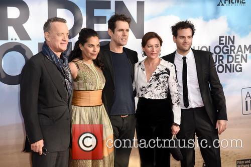 Tom Hanks, Sarita Choudhury, Tom Tykwer, Sidse Babett Knudsen and Alexander Black 4
