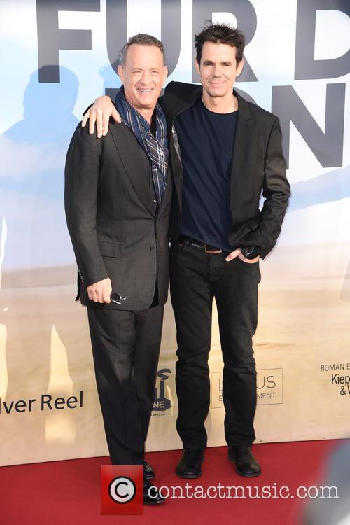 Tom Hanks and Tom Tykwer 9