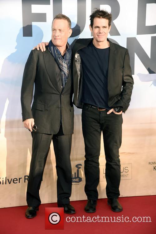 Tom Hanks and Tom Tykwer 10