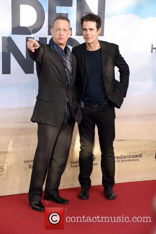 Tom Hanks and Tom Tykwer