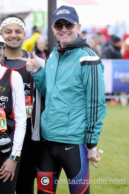 2016 Virgin Money London Marathon Celebrity Start