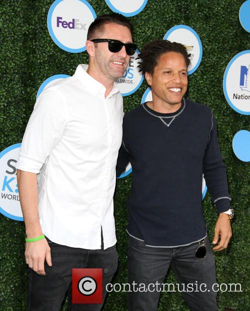 Keane and Cobi Jones