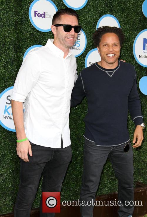 Keane and Cobi Jones 2