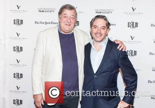 Stephen Fry and Matt Brown 2
