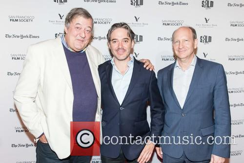 Stephen Fry, Matt Brown and Doron Weber 3