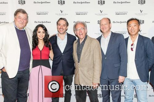 Stephen Fry, Devika Bhise, Matt Brown, Robert Kanigel, Doron Weber and Ken Ono 4