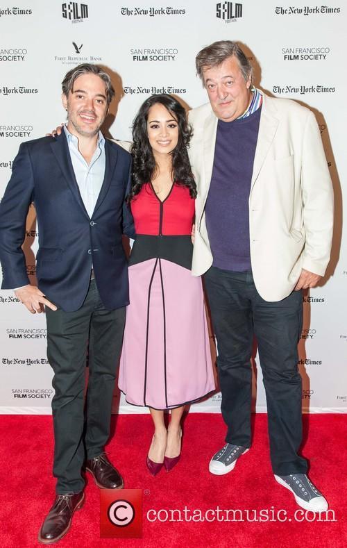Matt Brown, Devika Bhise and Stephen Fry 4