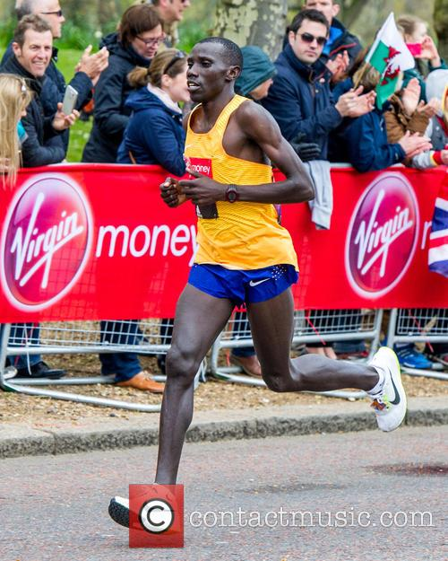 Stanley Biwott and Elite Men's Second Place In The London Marathon 2016 1