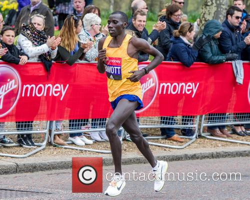Stanley Biwott and Elite Men's Second Place In The London Marathon 2016 2