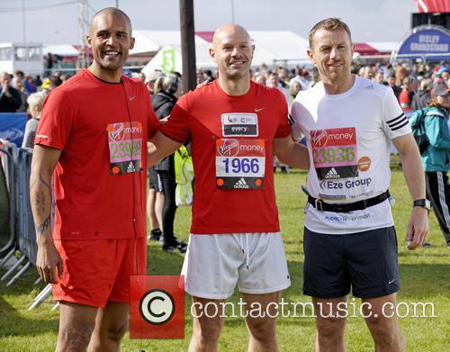 Clarke Carlisle, Danny Mills and Gary Rowett 1