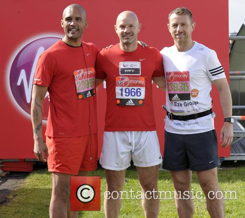 Clarke Carlisle, Danny Mills and Gary Rowett 2