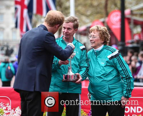 Hugh Jones, Prince Harry and Sylvia Disley 4
