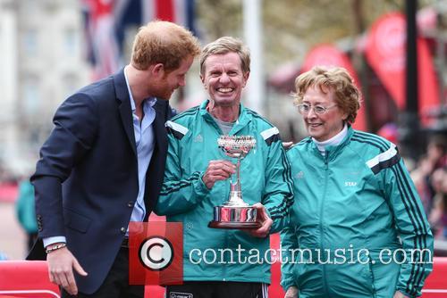 Hugh Jones, Prince Harry and Sylvia Disley 5