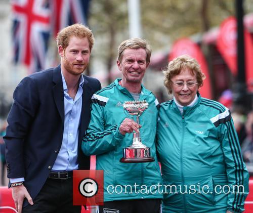 Hugh Jones, Prince Harry and Sylvia Disley 6