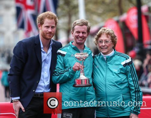 Hugh Jones, Prince Harry and Sylvia Disley 7
