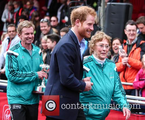 Hugh Jones, Prince Harry and Sylvia Disley 8
