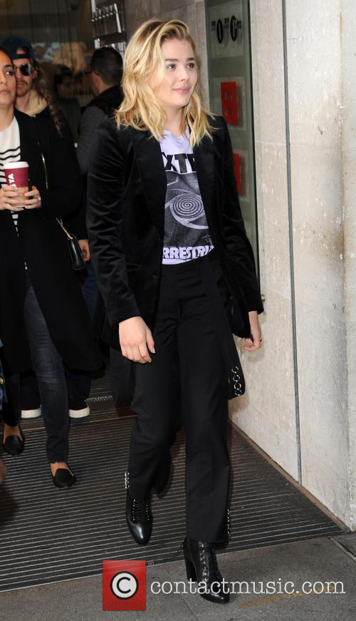 Chloe Grace Moretz at BBC Radio 1