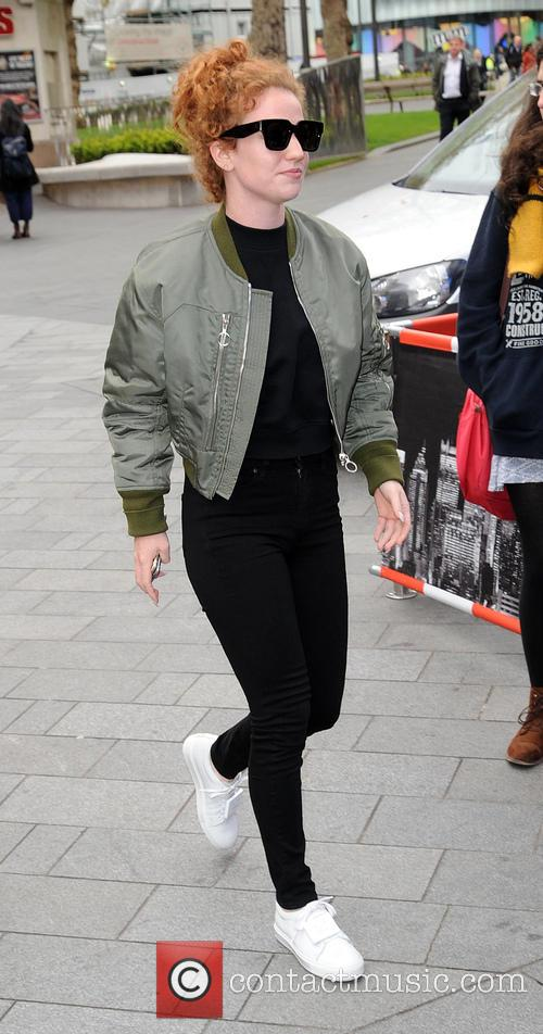 Jess Glynne arrives at Global House
