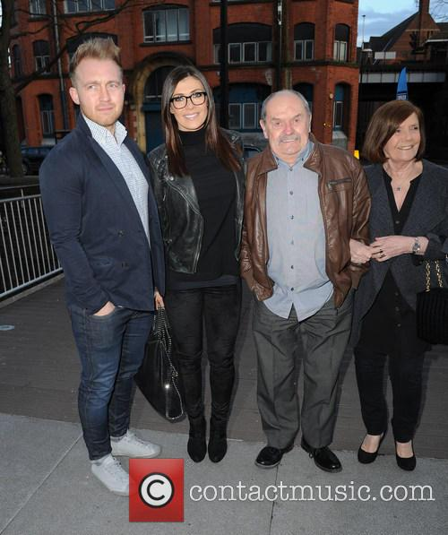 Kym Marsh, Matt Baker, Dave Marsh and Pauline Marsh 5