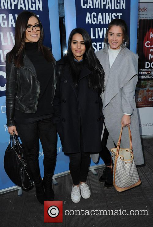 Kym Marsh, Sair Khan and Brooke Vincent 6