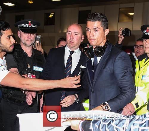 Real Madrid arrival Manchester
