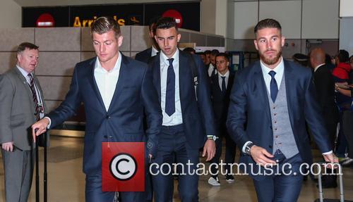 Real Madrid, Toni Kroos, James Rodrigues and Sergio Ramos 10