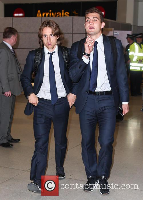 Mateo, Luca Modric and Real Madrid 1