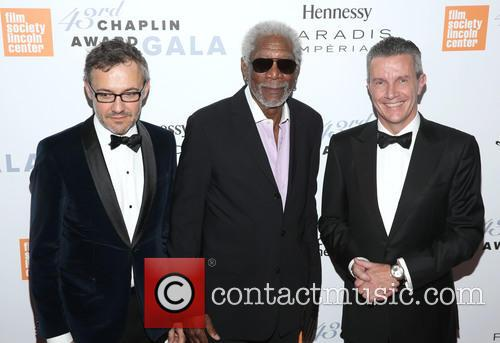 Laurent Vinay, Morgan Freeman and Daniel Reido 1