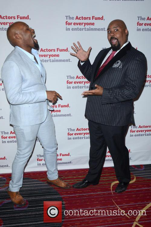 Michael James Scott and James Monroe Iglehart 1