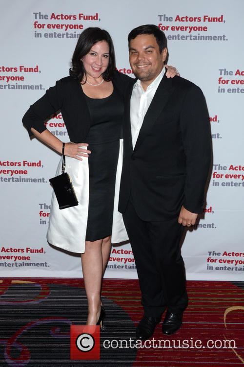 Kristen Anderson-lopez and Robert Lopez 1