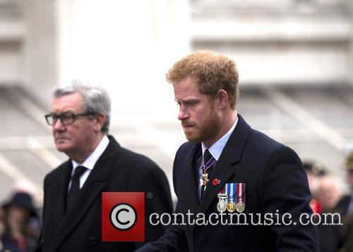 Prince Harry attends Anzac Day services