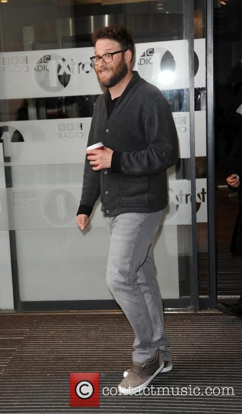 Seth Rogen at BBC Radio 1