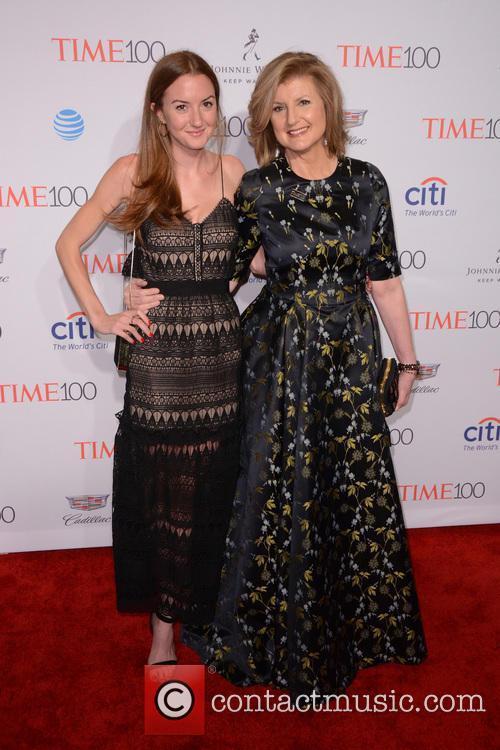 Christina Huffington and Arianna Huffington 1