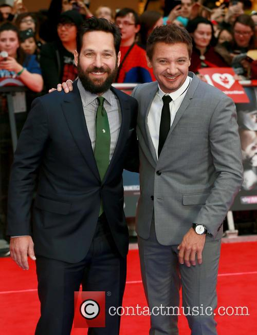 Paul Rudd and Jeremy Renner 1