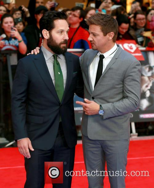 Paul Rudd and Jeremy Renner 7