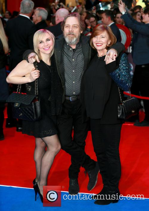Chelsea Hamill, Mark Hamill and Marilou York 1
