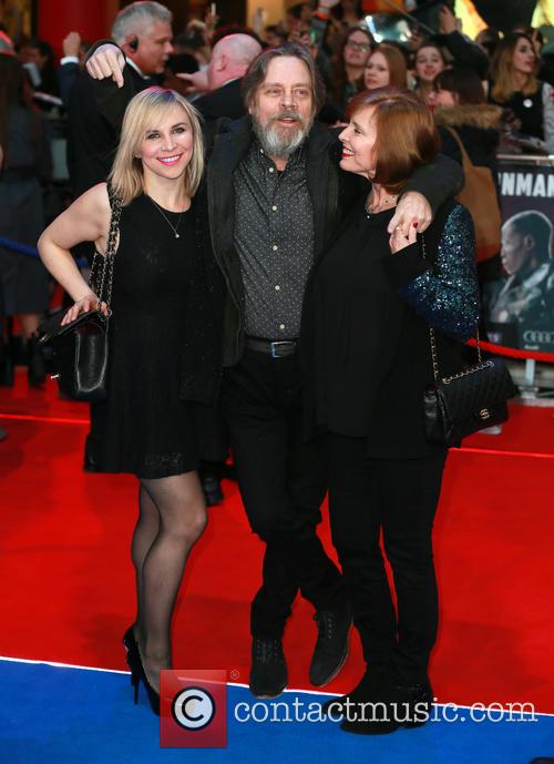 Chelsea Hamill, Mark Hamill and Marilou York 2