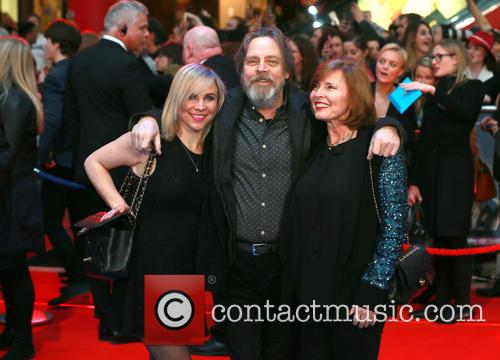 Chelsea Hamill, Mark Hamill and Marilou York 3