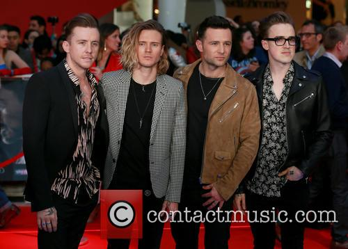 Danny Jones, Dougie Poynter, Harry Judd, Tom Fletcher and Mcfly 1
