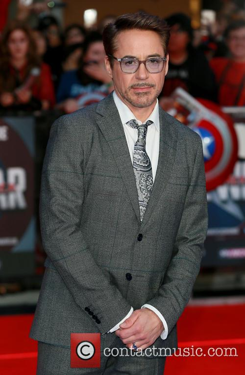 Robert Downey Jr. at the Captain America: Civil War premiere