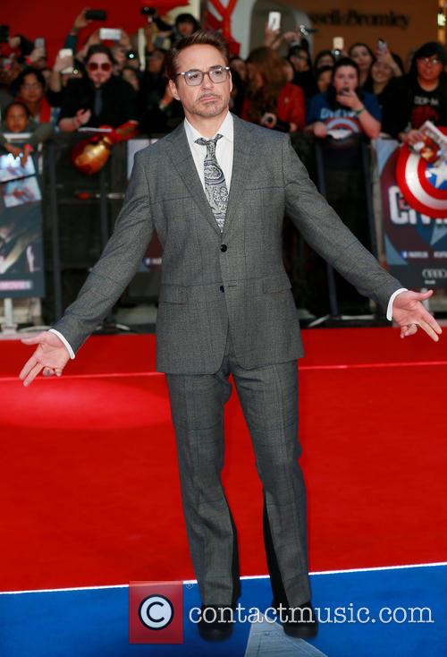Robert Downey Jr. at 'Captain America: Civil War' premiere
