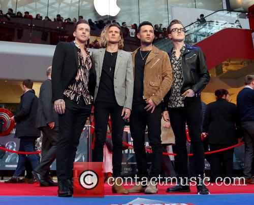 Danny Jones, Dougie Poynter, Harry Judd, Tom Fletcher and Mcfly 2