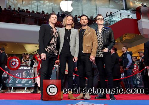 Danny Jones, Dougie Poynter, Harry Judd, Tom Fletcher and Mcfly 3