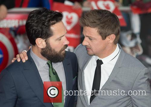 Paul Rudd and Jeremy Renner 2